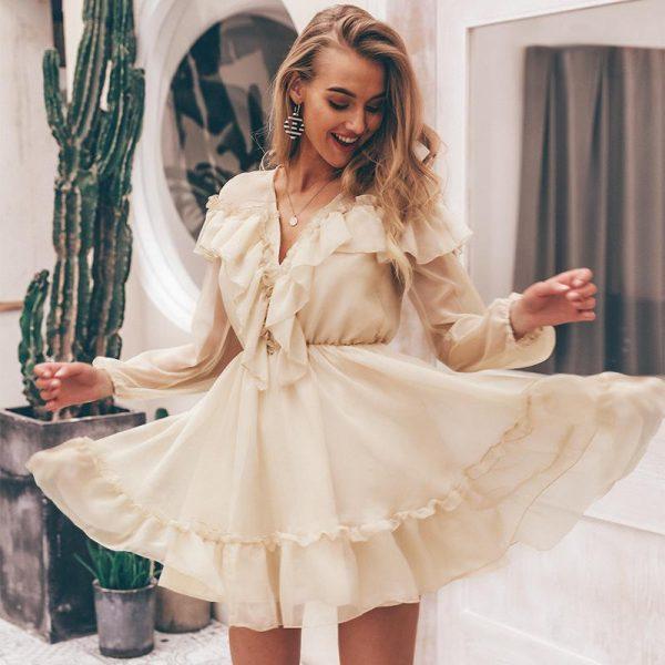 Hippie Long Sleeve Dress
