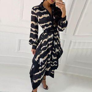 Boho chic winter dress