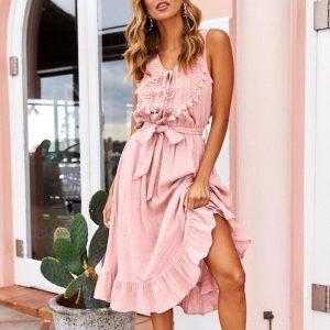 Cheap Bohemian Short Dress