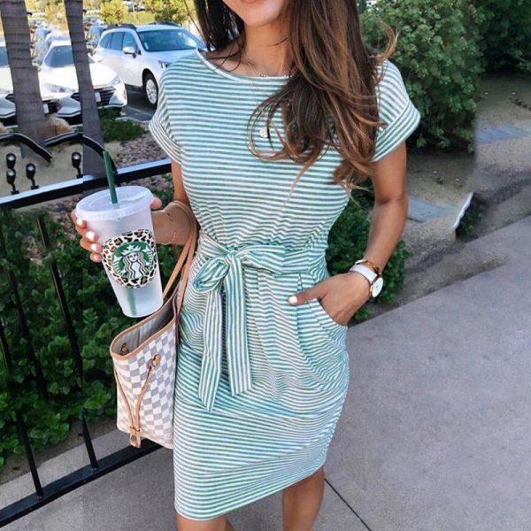 Little Hippie Simple Stripe Dress