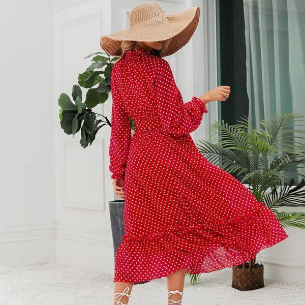 Bohemian Style Maxi Dress for Women