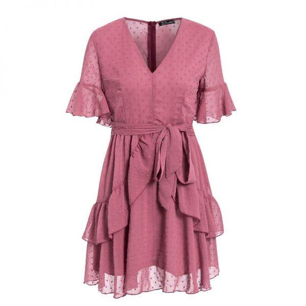 Bohemian Chic Short Summer Dress