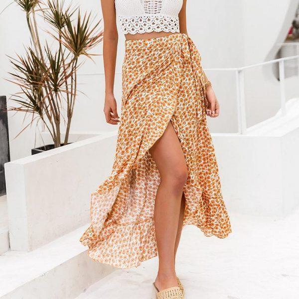 Bohemian Chic Long Skirt