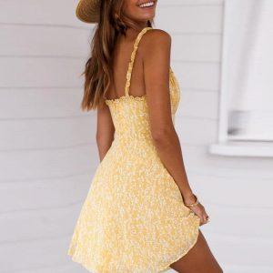 Bohemian Short Beach Dress