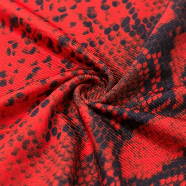 Glamaker Animal Print Two Piece Suit Long Dress Women Turtleneck Long Sleeve High Waist Bodycon Dress Autumn Winter Sexy Dress