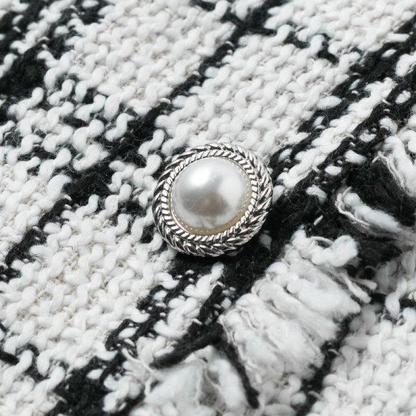 Bohemian Checkered Culotte Skirt