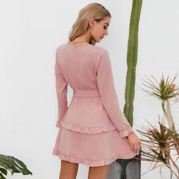 Sexy Bohemian Wrap Dress