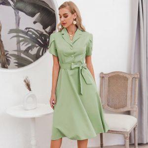 Bohemian Chic Mid-Long Dress