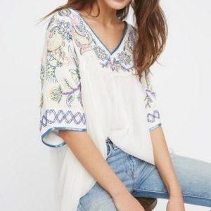 Hippie mexican blouse