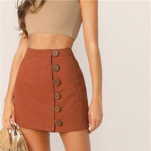 Short bohemian chic skirt