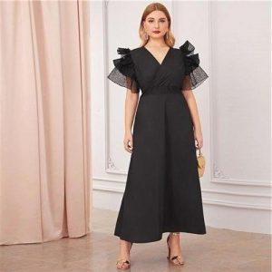 Bohemian maxi dress big size cheap