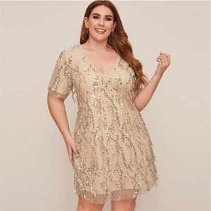 Hippie style dress large size