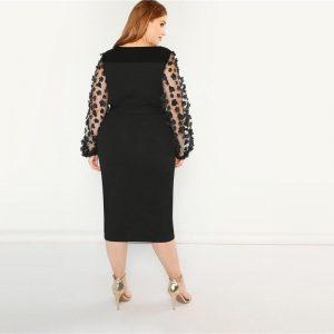Romantic dress bohemian large size