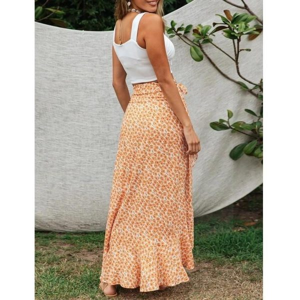 Long Bohemian Skirt