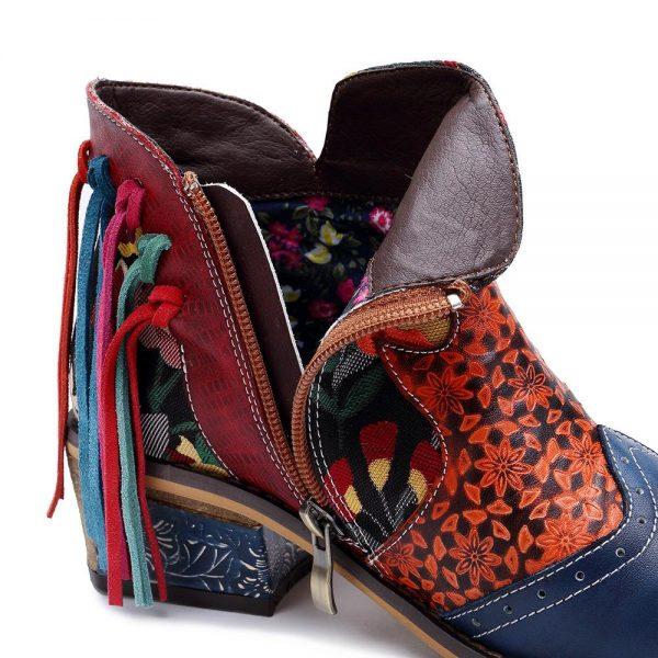 Bohemian Fringe Boots