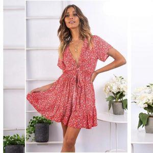 Bohemian dress fall 2019