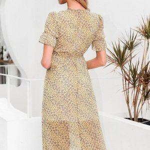 Bohemian chic ivory dress
