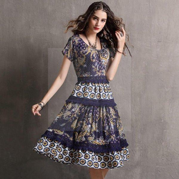 Original bohemian chic dress