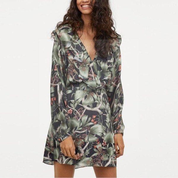 Bohemian style dress cheap