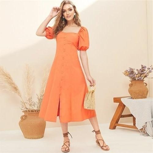 Bohemian cotton maxi dress