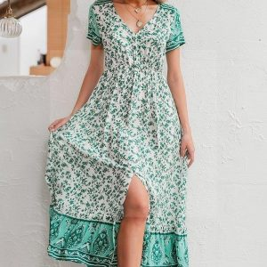 Long dress boheme france