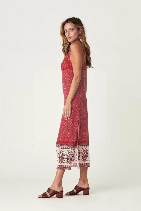 Bohemian style dress with veil
