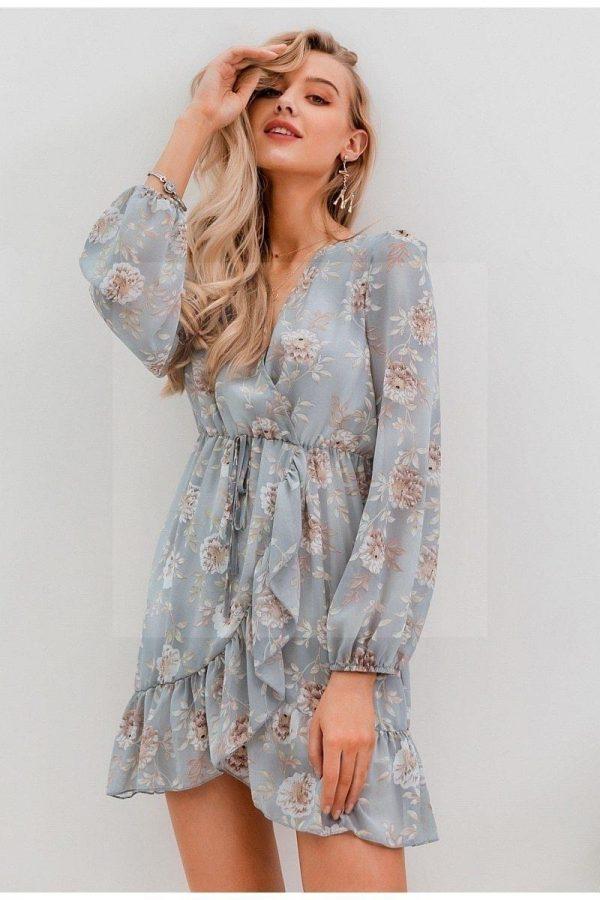 Bohemian chic hippie long dress